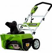 GreenWorks 26032 12 Amp 20-Inch Electric Snow Thrower