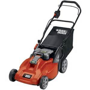 Black and Decker Cordless Electric Lawn Mower With Catcher