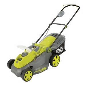 Sun Joe Model iON16LM Cordless Lawn Mower With Catcher