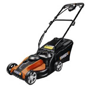 WORX Cordless Electric Lawn Mower With Catcher