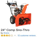 Ariens 24-Inch Comp Snow-Thro 920021 2-Stage