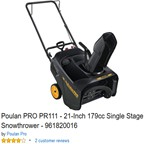 Poulan-Pro-961820016-PR111-Single-Stage