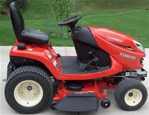 Kubota Riding Garden Tractor