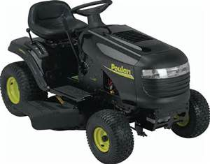 Poulan Pro Riding Lawn Mower