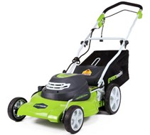 Greenworks 25022 Best Electric Corded Lawn Mower