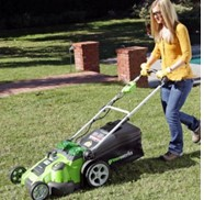 Mowing With A Battery Powered Mower